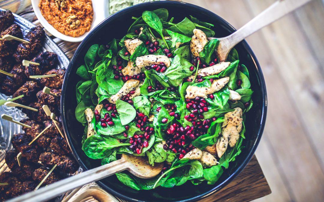odchudzająca sałatka jako doskonała forma diety