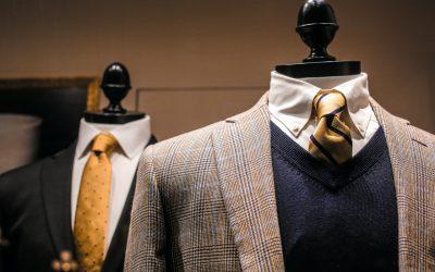 Jaki sweter męski dobrać do czarnej koszuli?